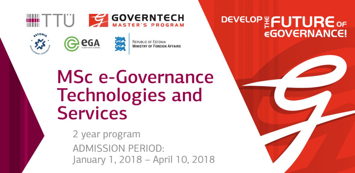 Master Studies of the e-Governance Technologies
