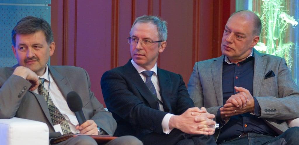 (From left) Ivar Tallo, Ants Sild ja Linnar Viik - the founders of eGA.