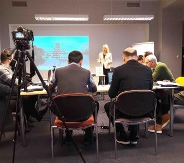 Kristina Reinsalu introduces e-tools for citizen engagement